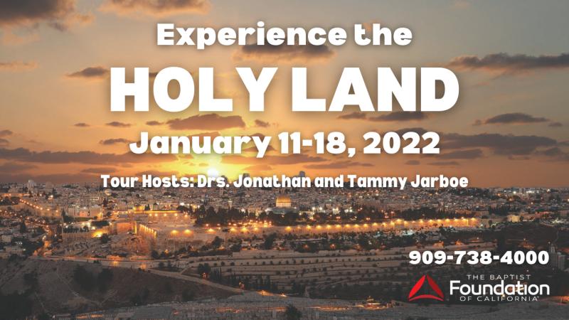 2022 Jarboe Holy Land Trip